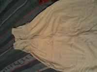 Sac de dormit galben