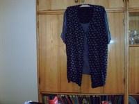 bluza cu vesta atasata