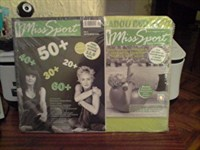 Revista + Dvd cu exercitii de slabit Miss Sport