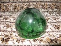 Glob de sticla verde (Id = 2106)