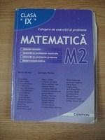 Matematica M2 - culegere clasa a IX-a