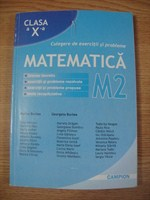 Matematica M2 - culegere clasa a X-a