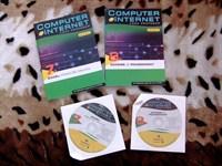 2 carti informatica + 2 CD-uri