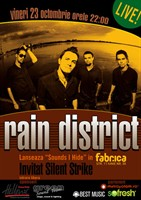 "Silent Strike la lansarea ""Sounds I Hide""- Rain District"