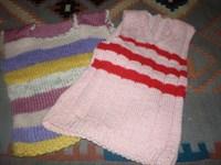 2 veste copii tricotate
