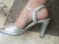 Sandale argintii