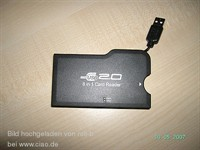 USB 2.0  8 in 1 Card reader