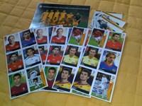 Colectie abtibilduri fotbalisti