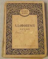 """""""Opere"""" de A.I. Odobescu"""