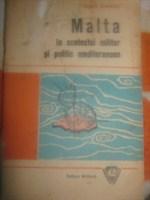 "Carte ""Malta in contextul militar si politic mediteranean"" - Sorin Stanciu"