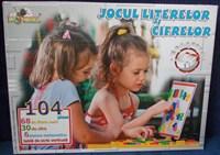 Joc copii litere si cifre