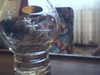 Suport din sticla pentru lumanare