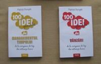 "2 carti din colectia Forbes ""100 idei geniale"""