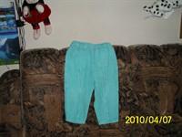 pantalonas velur copii