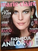 2 reviste  (unica si marie claire)