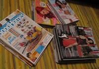 Reviste diverse (Elle, Good Homes, Cosmopolitan, The One)