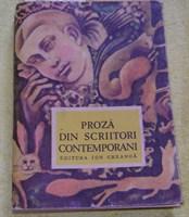 "carte ""Proza din scriitori contemporani"""
