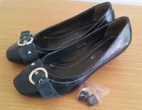 Pantofi verzi inchis, marimea 38