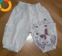 Pantalon trei sferturi pentru fetite 6-12 luni