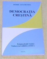 """Carte """"Democratia crestina"""" de Pierre Letamendia"""
