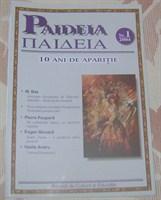 Paideia, nr. 1/ 2001, revista de educatie si cultura