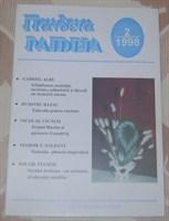 Paideia, nr. 2/ 1998, revista de educatie si cultura