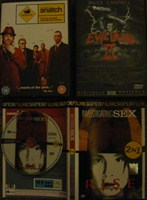4 Dvd-uri Filme : Snatch , Evil Dead , Rise Blood Hunter, IN vestigating Sex