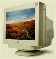 "Monitor CRT - CTX , 17"""