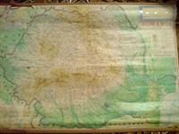 harta Romania+fizica a lumii