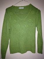 Bluza verde praz - 42-44