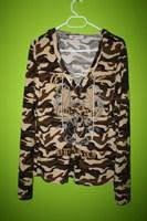 bluziță camuflaj