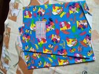 2 coperti colorate caiet mare