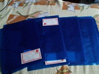 8 coperti albastre caiet mic