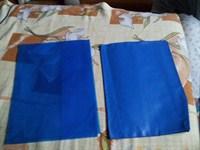 2 coperti albastre manual