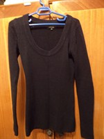 pulover kenvelo negru xs/s