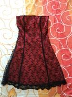 rochita rosu+negru S