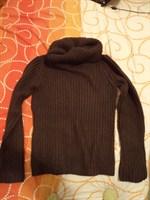 pulover dama L tricot f gros maro (Takko)