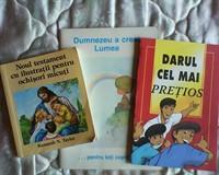 Biblia pentru copilasi,si alte carti despre Dumnezeu