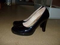 Pantofi negri comozi