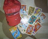 Sapca + carti de joc pt copii