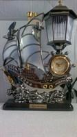 Veioza cu ceas model marin
