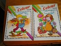 2 carti de colorat noi ptr prescolari