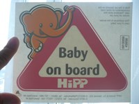 abtibild 'baby on board'