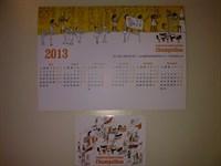 Calendare 2013 de buzunar si de birou (pachet 2)