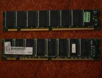 2 placute 64 MB Sd-ram pc 100