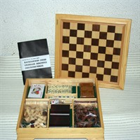 Set table, sah, domino, poker