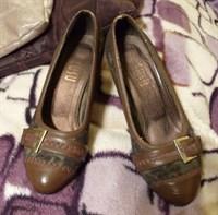 Pantofi maro superbi