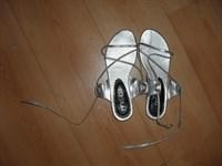 Sandale argintii masura 38