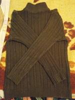 Pulover pufos marime XS/ fetita