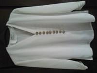 Bluza eleganta alba, marime XL
